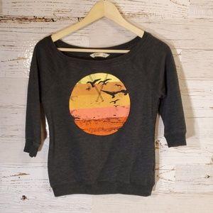 Old Navy sunset graphic sweatshirt